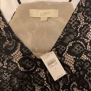 LOFT Tops - Lace cami blouse NWT